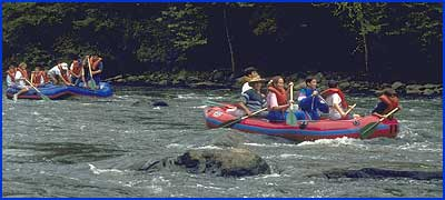 Rafting the Housatonic